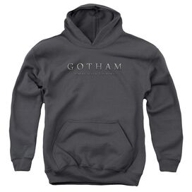 Gotham Logo Youth Pull Over Hoodie