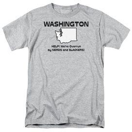 Washington Short Sleeve Adult Athletic T-Shirt
