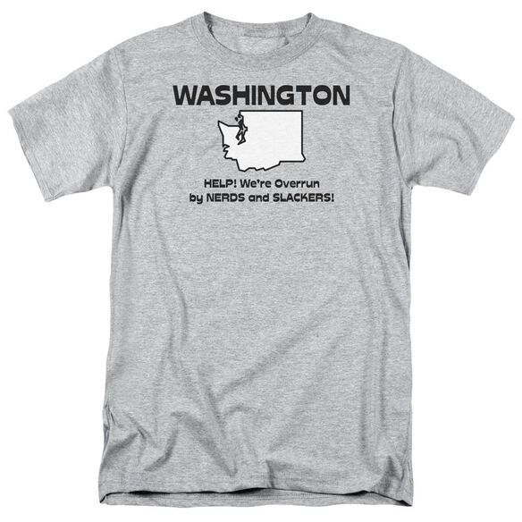 Washington Short Sleeve Adult Athletic T-Shirt