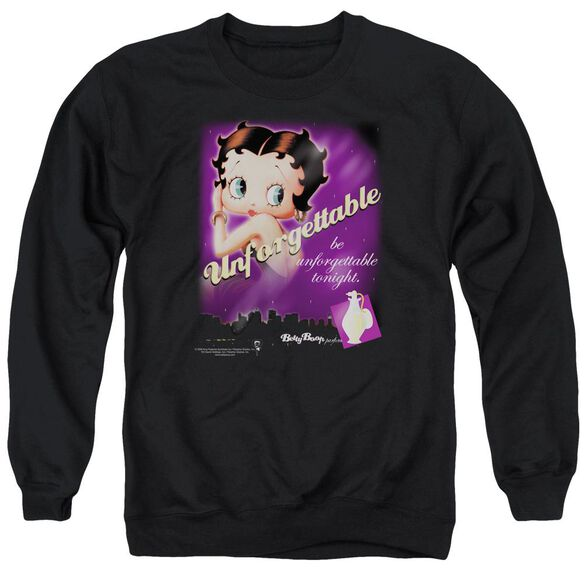 Betty Boop Unforgettable Adult Crewneck Sweatshirt