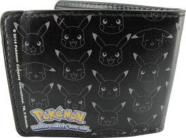 Pokemon Poke Ball Pikachu Outlines Wallet