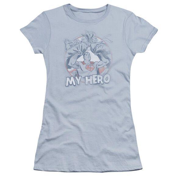 Superman My Hero Premium Bella Junior Sheer Jersey Light