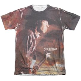 Stevie Ray Vaughan Weather Adult Poly Cotton Short Sleeve Tee T-Shirt