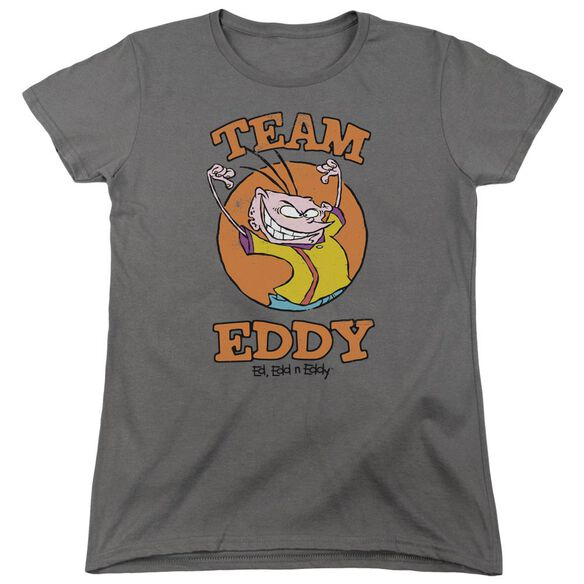 Ed Edd N Eddy Team Eddy Short Sleeve Womens Tee T-Shirt