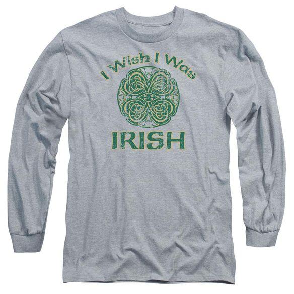 Irish Wish Long Sleeve Adult Athletic T-Shirt