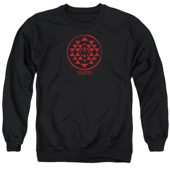 Bsg Red Squadron Patch Adult Crewneck Sweatshirt