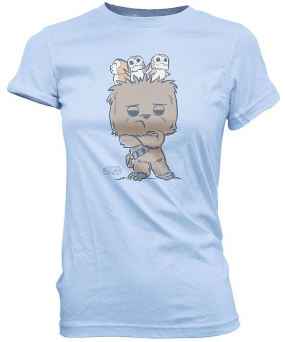Exclusive Star Wars Chewie Porgs Nest Juniors T-Shirt
