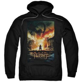 Hobbit Smaug Poster Adult Pull Over Hoodie