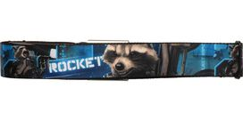 Guardians of the Galaxy Rocket Blue Back Seatbelt Mesh Belt