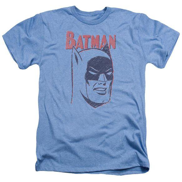 Batman Crayon Man Adult Heather Light