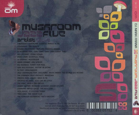 Mushroom Jazz 5 0305
