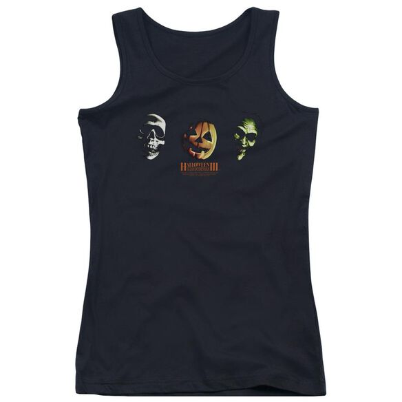 Halloween Iii Three Masks Juniors Tank Top