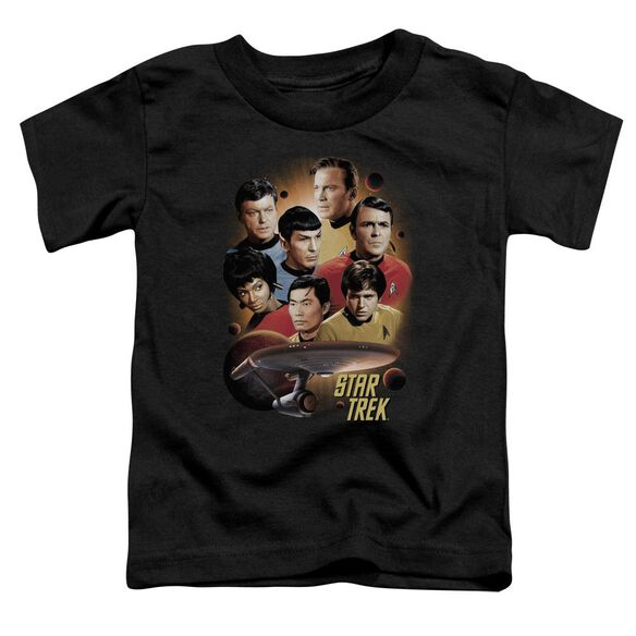 Star Trek Heart Of The Enterprise Short Sleeve Toddler Tee Black Sm T-Shirt