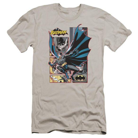 Jla Batman Panels Premuim Canvas Adult Slim Fit