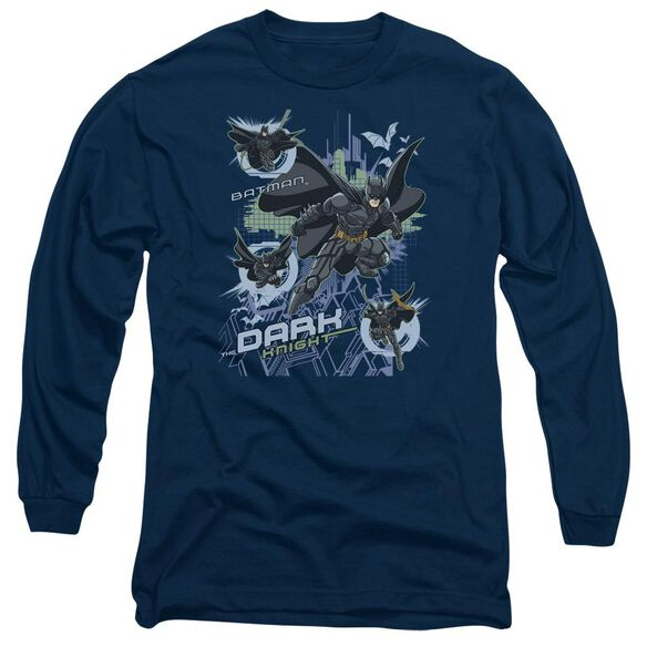 Dark Knight Attack From All Sides Long Sleeve Adult T-Shirt