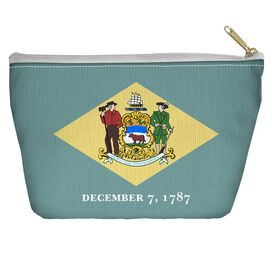 Delaware Flag Accessory Pouch