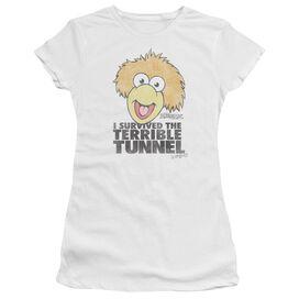Fraggle Rock Terrible Tunnel Premium Bella Junior Sheer Jersey