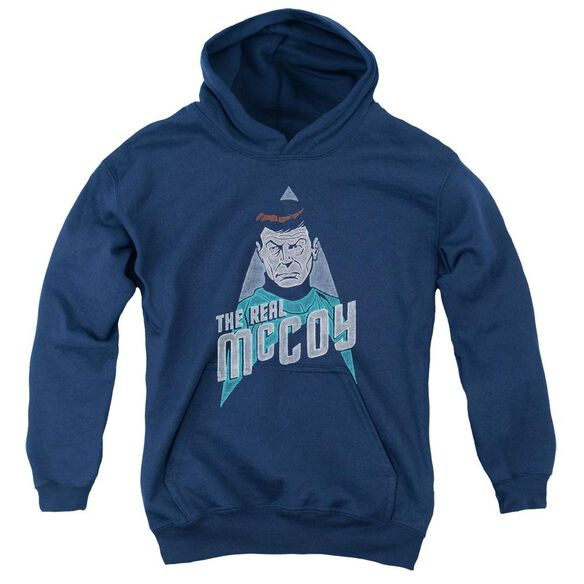 Star Trek The Real Mccoy Youth Pull Over Hoodie