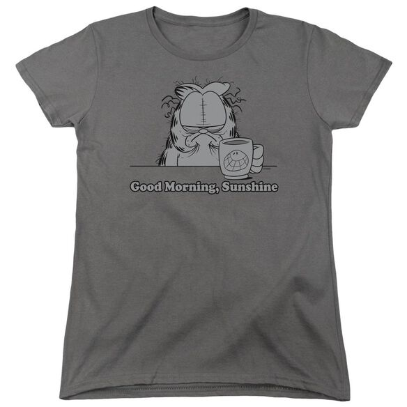 Garfield Good Morning Sunshine Short Sleeve Womens Tee T-Shirt