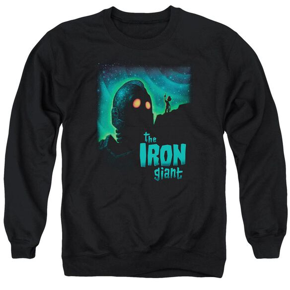 Iron Giant Look To The Stars Adult Crewneck Sweatshirt