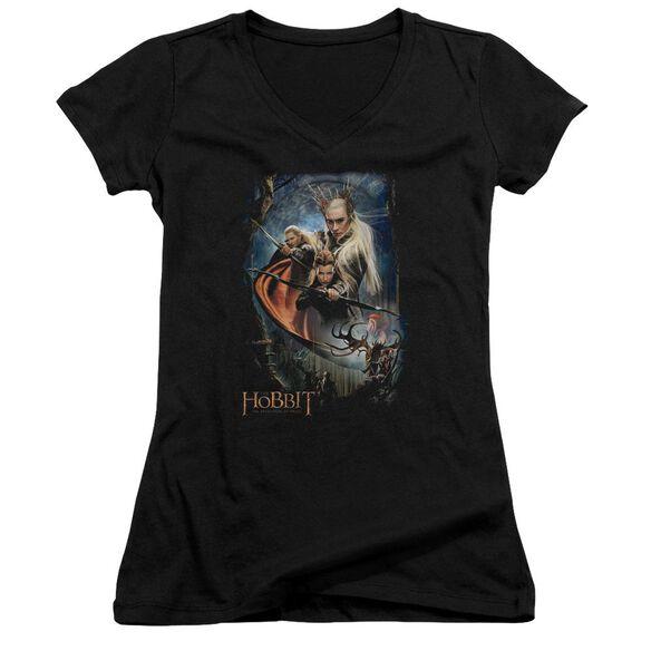 Hobbit Thranduil's Realm Junior V Neck T-Shirt