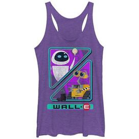 Wall E EVE Triangles Tank Top Juniors T-Shirt