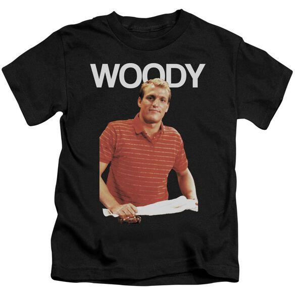 Cheers Woody Short Sleeve Juvenile Black Md T-Shirt