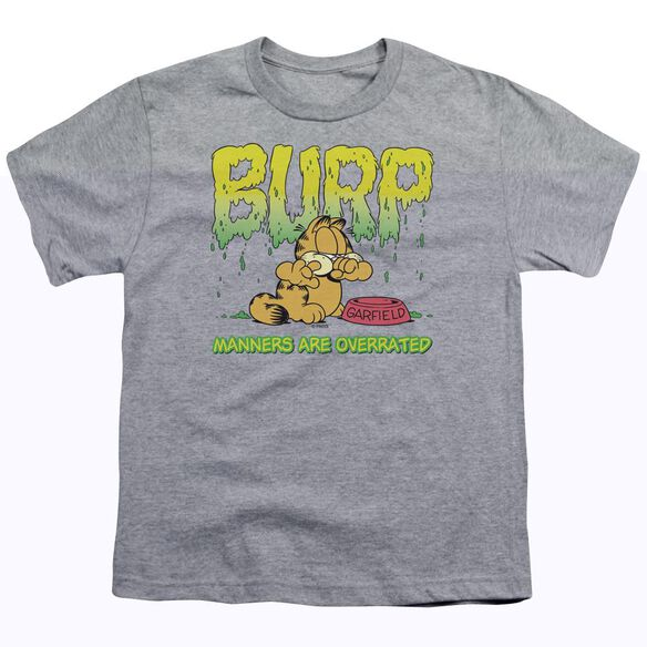 GARFIELD MANNERS - S/S YOUTH 18/1 - ATHLETIC HEATHER T-Shirt