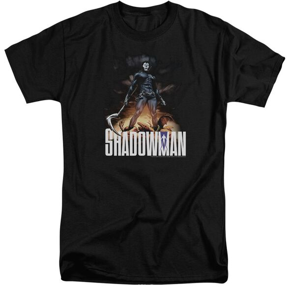Shadowman Shadow Victory Short Sleeve Adult Tall T-Shirt
