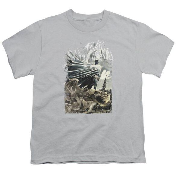 Batman Instill Fear Short Sleeve Youth T-Shirt