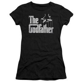 Godfather Logo Short Sleeve Junior Sheer T-Shirt
