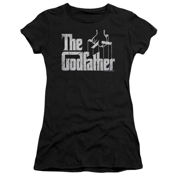 Godfather Logo Short Sleeve Junior Sheer T-Shirt