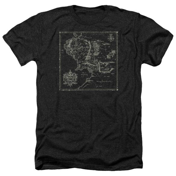 Lord Of The Rings Map Of Me Adult Heather