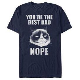 Grumpy Cat Best Dad Nope T-Shirt