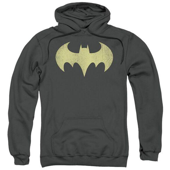 Dc Batgirl Logo Distressed-adult