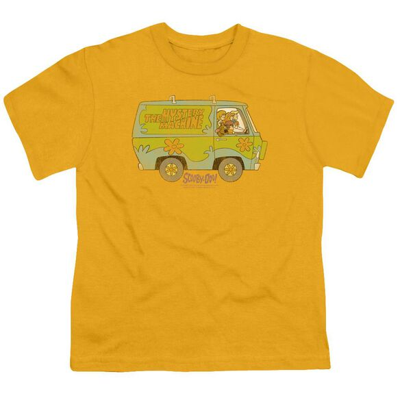 Scooby Doo The Mystery Machine Short Sleeve Youth T-Shirt