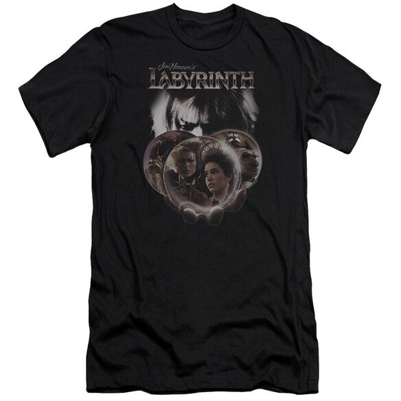 Labyrinth Globes Premuim Canvas Adult Slim Fit
