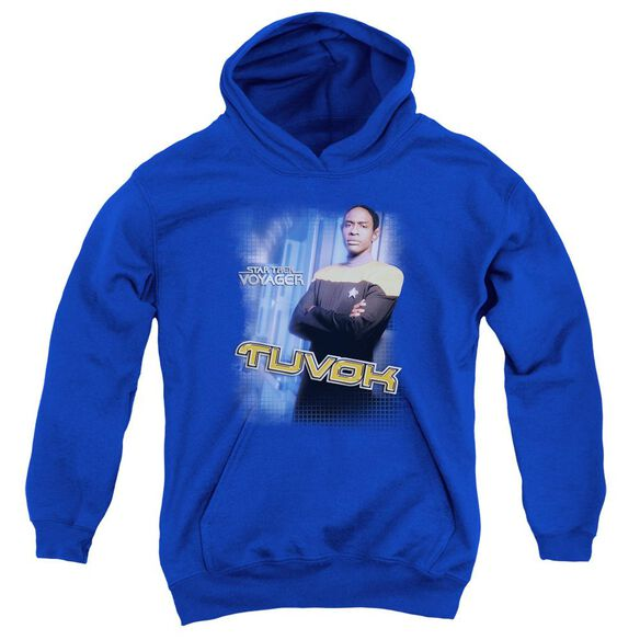 Star Trek Tuvok Youth Pull Over Hoodie