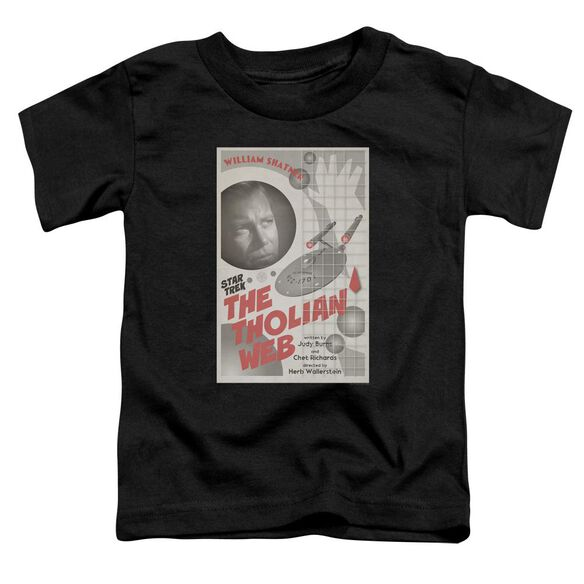 Star Trek Tos Episode 64 Short Sleeve Toddler Tee Black Sm T-Shirt