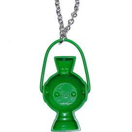 Green Lantern Lamp Necklace