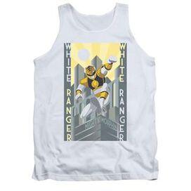 Power Rangers White Ranger Deco Tank Top