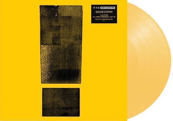 Shinedown - Attention, Attention [Exclusive Transparent Gold Vinyl]