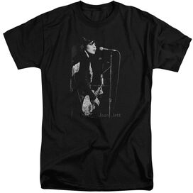 Joan Jett On The Mic Short Sleeve Adult Tall T-Shirt