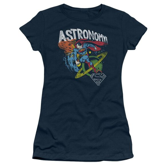 Dc Astronomy Short Sleeve Junior Sheer T-Shirt