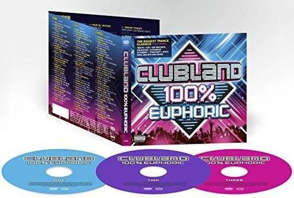 Clubland 100% Euphoric / Various (Uk)