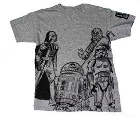 Star Wars Group Sketch Kids T-Shirt