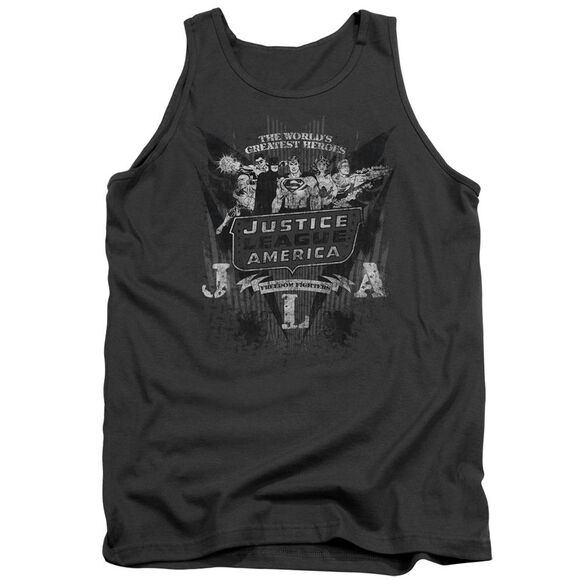 Dc Greatest Heroes Adult Tank