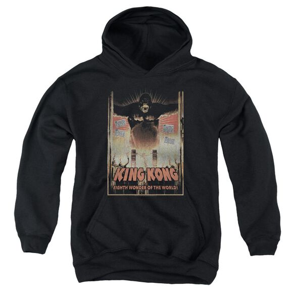 King Kong Eighth Wonder Of The World Youth Pull Over Hoodie