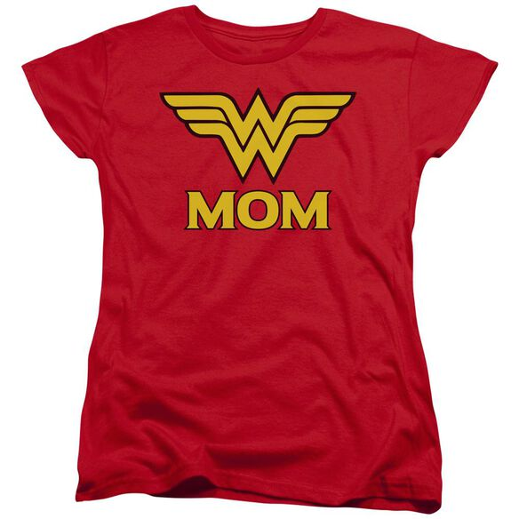 Dco Wonder Mom Short Sleeve Womens Tee T-Shirt