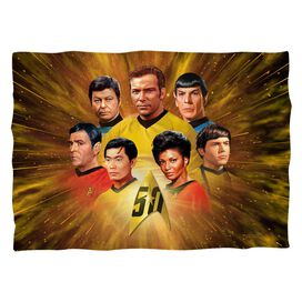 Star Trek 50 Th Crew Pillow Case